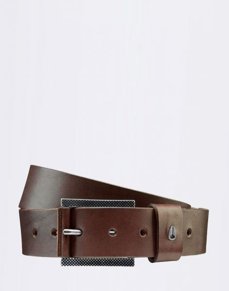 Nixon Americana Belt II Dark Brown L