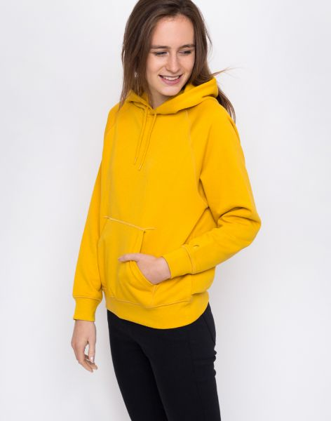 Carhartt WIP Hooded Chase Sweat Quince / Gold L