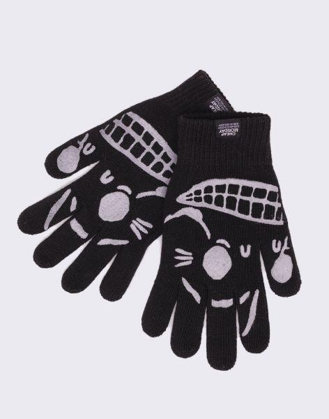 Cheap Monday Magic Gloves Black
