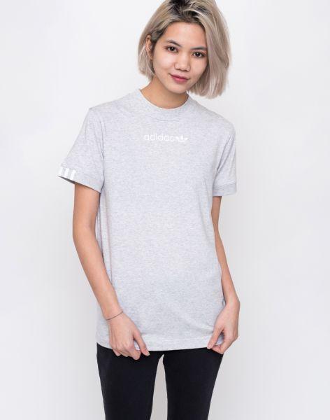 adidas Originals Coeeze T-Shirt Light Grey Heather 34