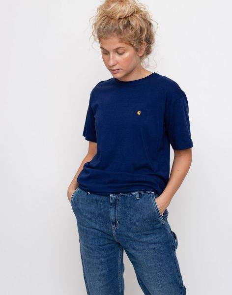 Carhartt WIP Chase Metro Blue / Gold M