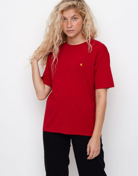 Carhartt WIP Chase Blast Red / Gold L