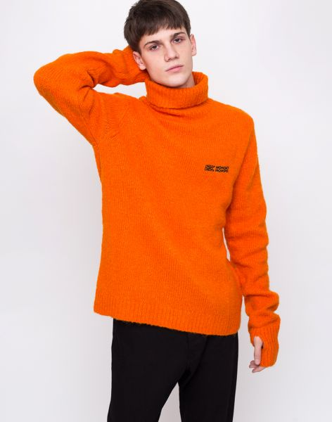 Cheap Monday Tap Knit Echologo Signal Orange L