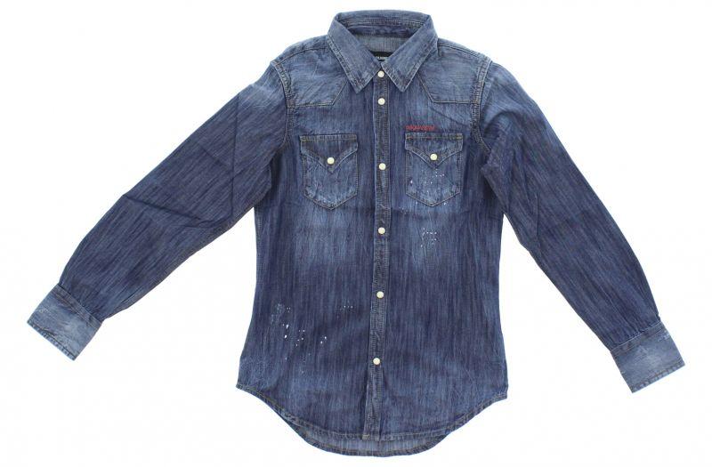 Košile dětská DSQUARED2   Modrá   Dívčí   8 let