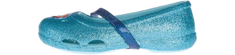Crocs Lina Frozen™ Flat Baleríny dětské Crocs | Modrá | Dívčí | 24-25