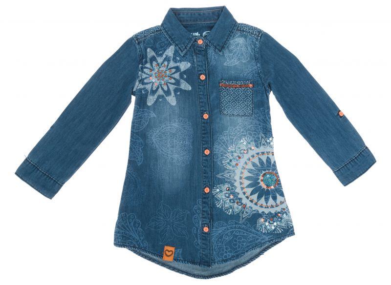 Alano Košile dětská Desigual | Modrá | Dívčí | 5-6 let