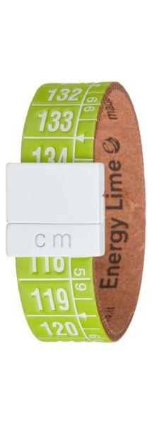 Energy Lime Náramek Il Centimetro | Zelená | Pánské | M 20 cm