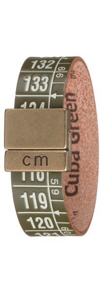 Cuba Green Náramek Il Centimetro | Zelená | Pánské | S 18 cm