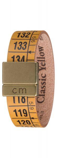 Classic Yellow Náramek Il Centimetro | Žlutá | Pánské | S 18 cm