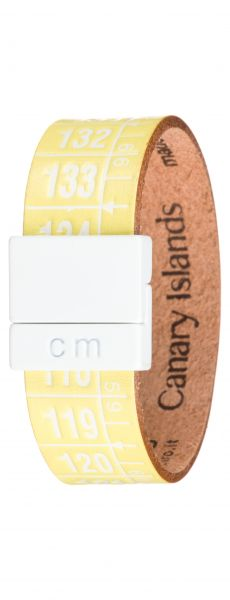 Canary Island Náramek Il Centimetro | Žlutá | Pánské | M 20 cm