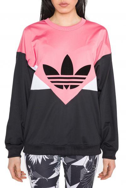 CLRDO Mikina adidas Originals | Černá Růžová Bílá | Dámské | 40