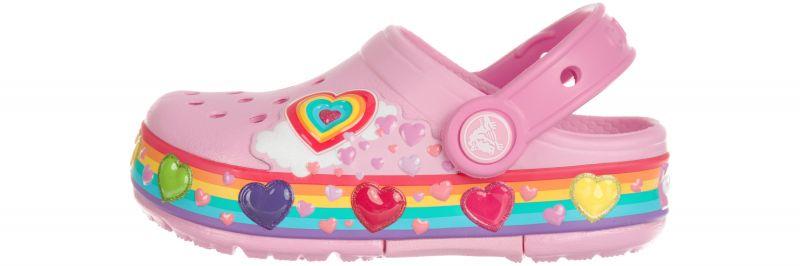 Crocband™ Fun Lab Lights Clog Crocs dětské Crocs | Růžová | Dívčí | 24-25