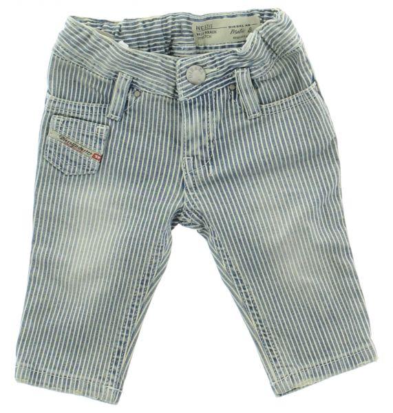 Jeans dětské Diesel | Modrá Bílá | Dívčí | 3 měsíce