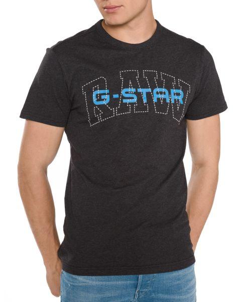 02 Triko G-Star RAW | Černá | Pánské | XXL