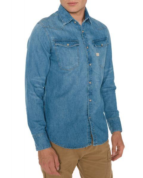 3301 Košile G-Star RAW | Modrá | Pánské | XXL