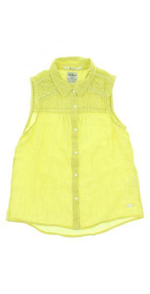 Halenka dětská Pepe Jeans | Žlutá | Dívčí | 4 roky