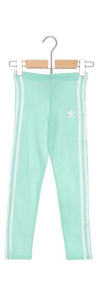 3-Stripes Legíny děstké adidas Originals | Modrá Zelená | Dívčí | 13-14 let