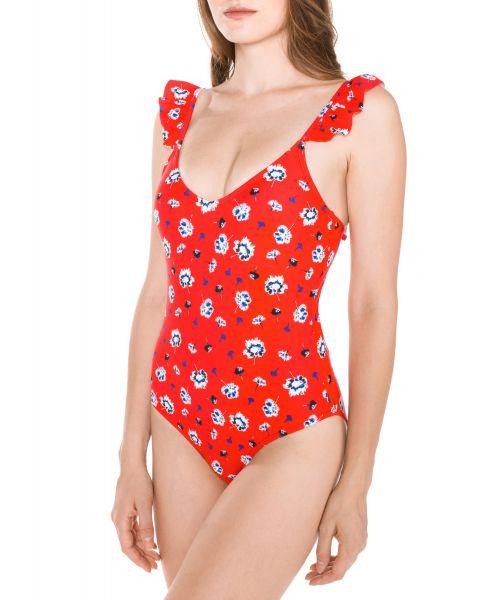 Annita Jednodílné plavky Vero Moda | Červená | Dámské | S