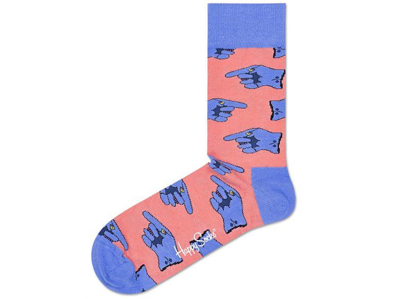 Glove Ponožky Happy Socks   Modrá Růžová   Dámské   36-40