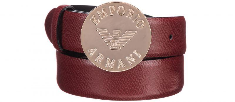 Pásek Emporio Armani | Červená Hnědá | Dámské | 95 cm