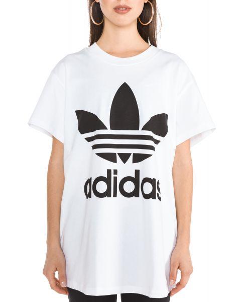 Big Trefoil Triko adidas Originals | Bílá | Dámské | 42