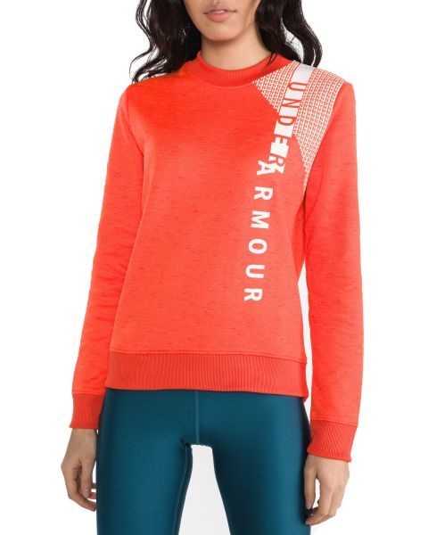 Armour Fleece® Mikina Under Armour | Červená Oranžová | Dámské | XL