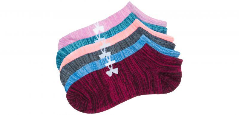 Essential Twist Ponožky 6 párů Under Armour   Vícebarevná   Dámské   M