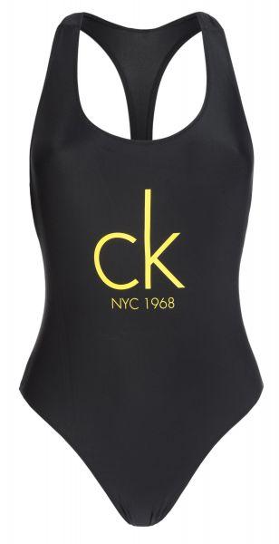 Jednodílné plavky Calvin Klein | Černá | Dámské | XS